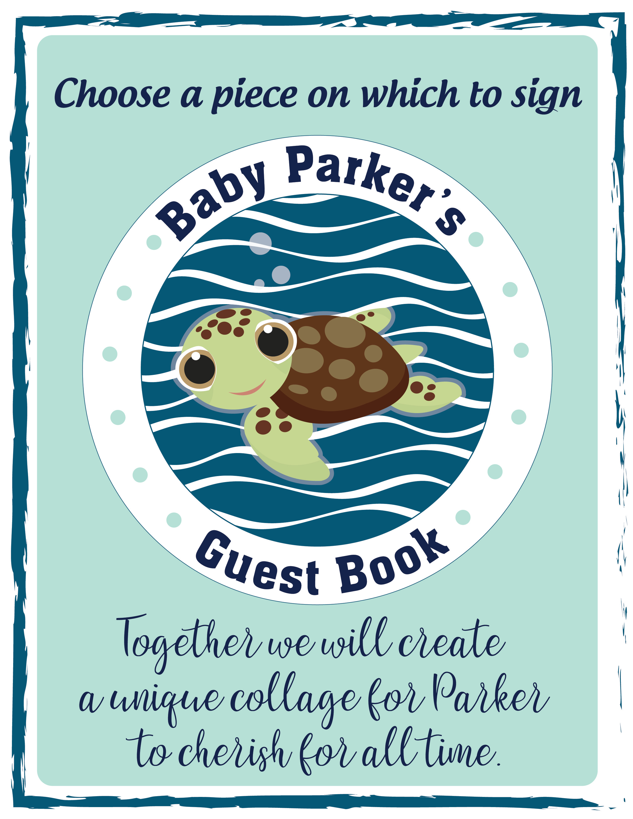 Baby Shower_Guest Book Sign