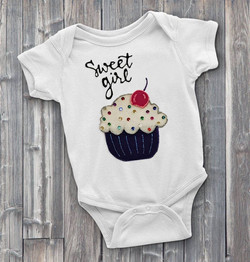 Sweet Girl Custom Onesie