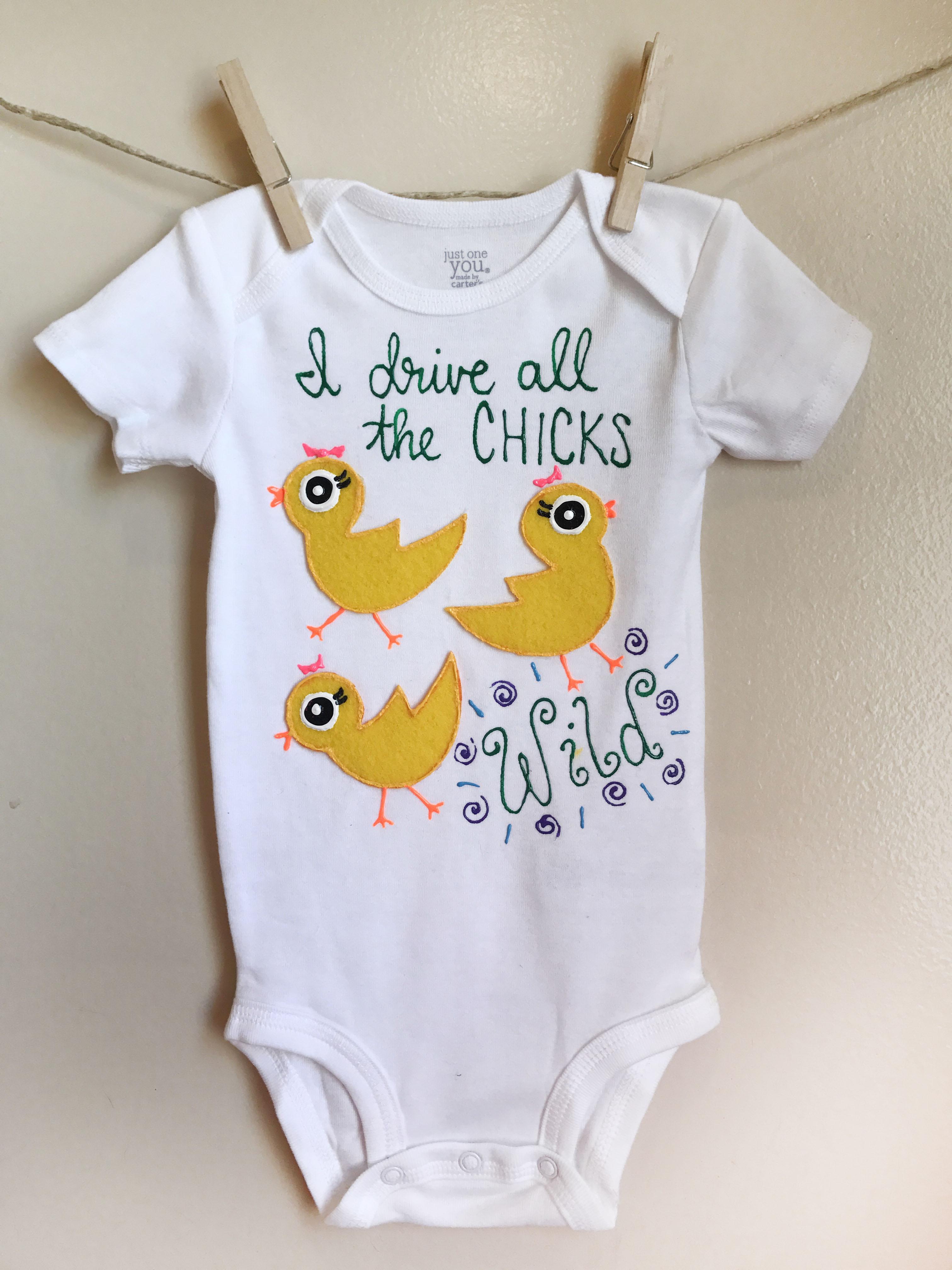 Chicks Gone Wild Custom Onesie