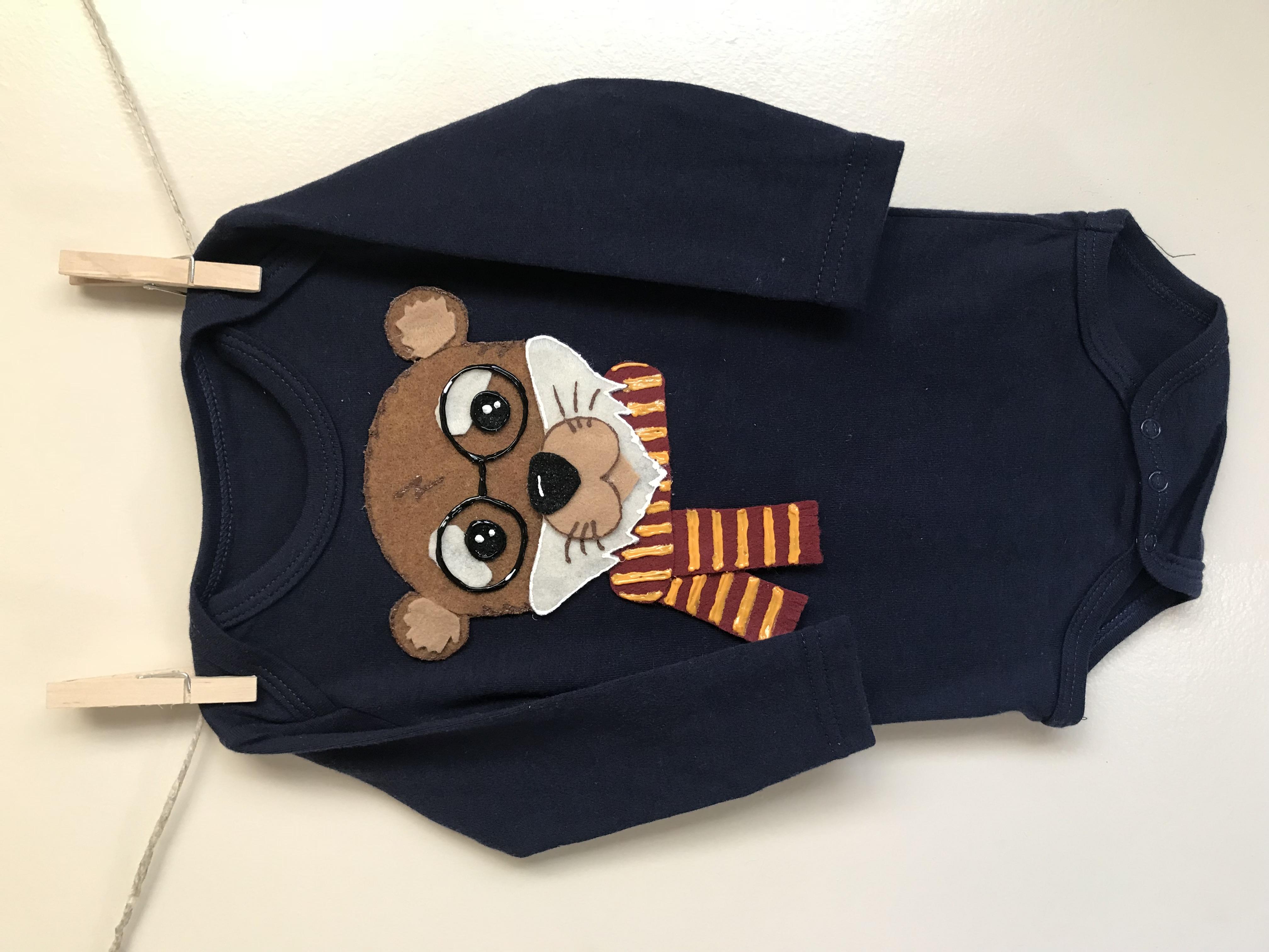 Harry Otter Custom Onesie