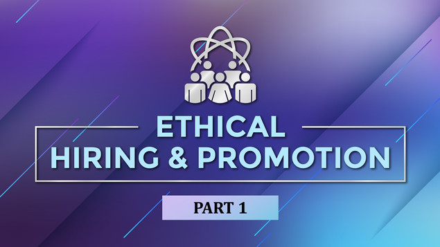 Ethical Hiring_VOD Title Design