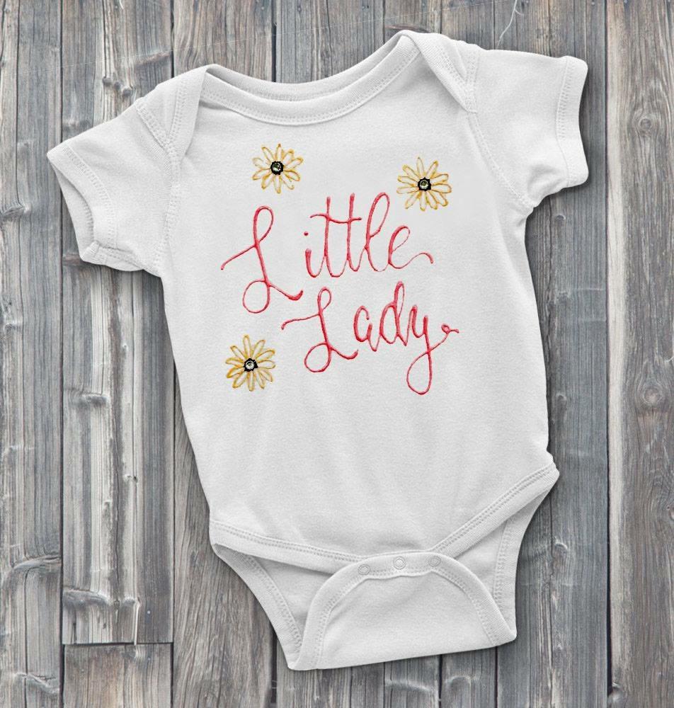 Little Lady Custom Onesie