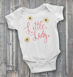 Little Lady Custom Onesie
