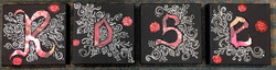 Rose Wall Canvases