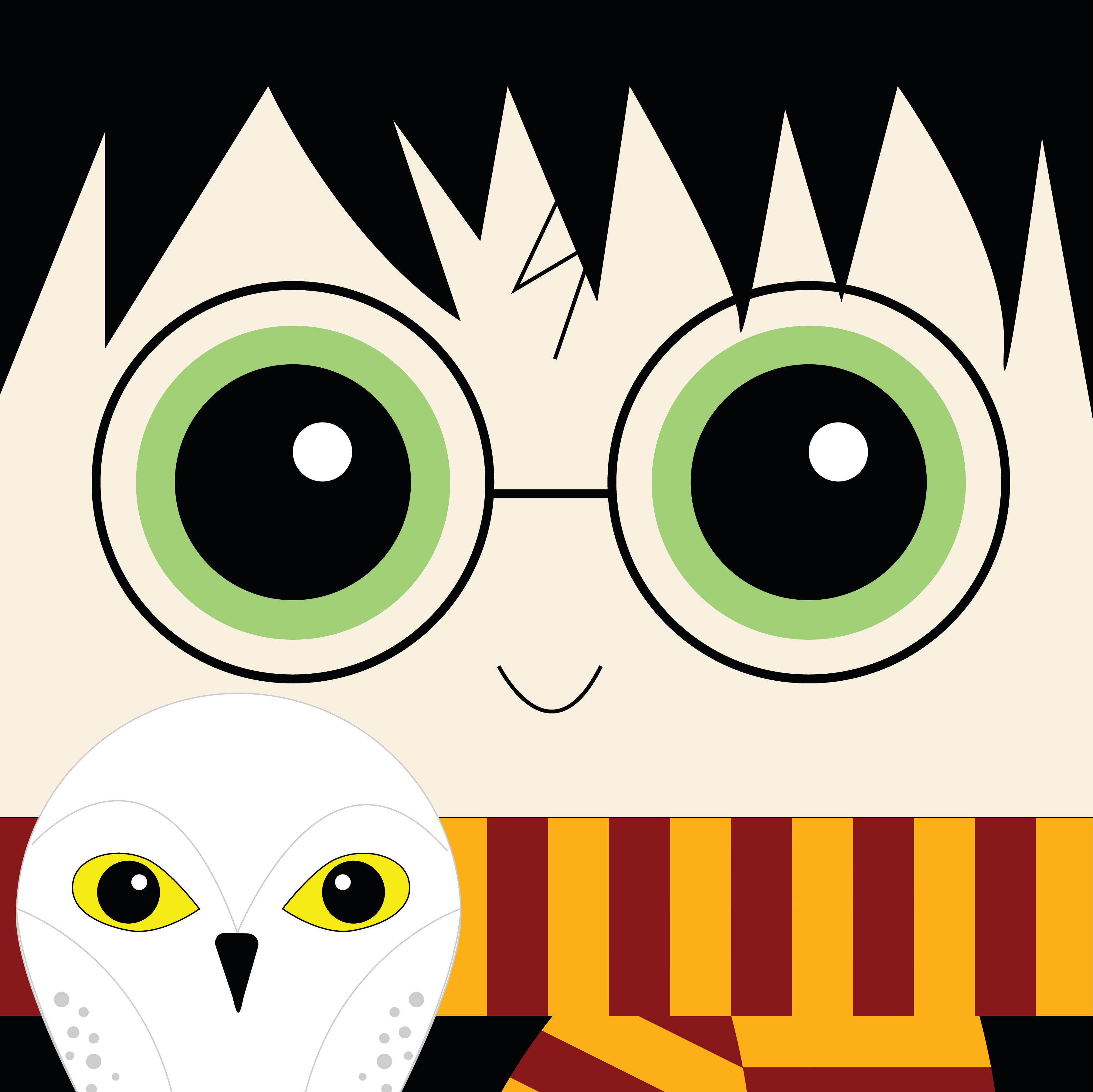 Harry Potter_Square Print