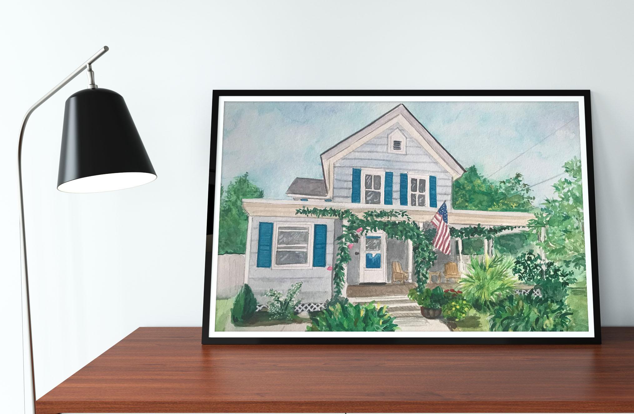 House Portrait Cape Cod