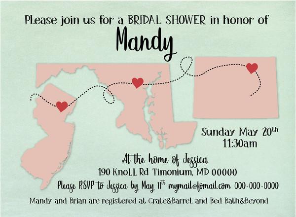 Bridal Party Invitation