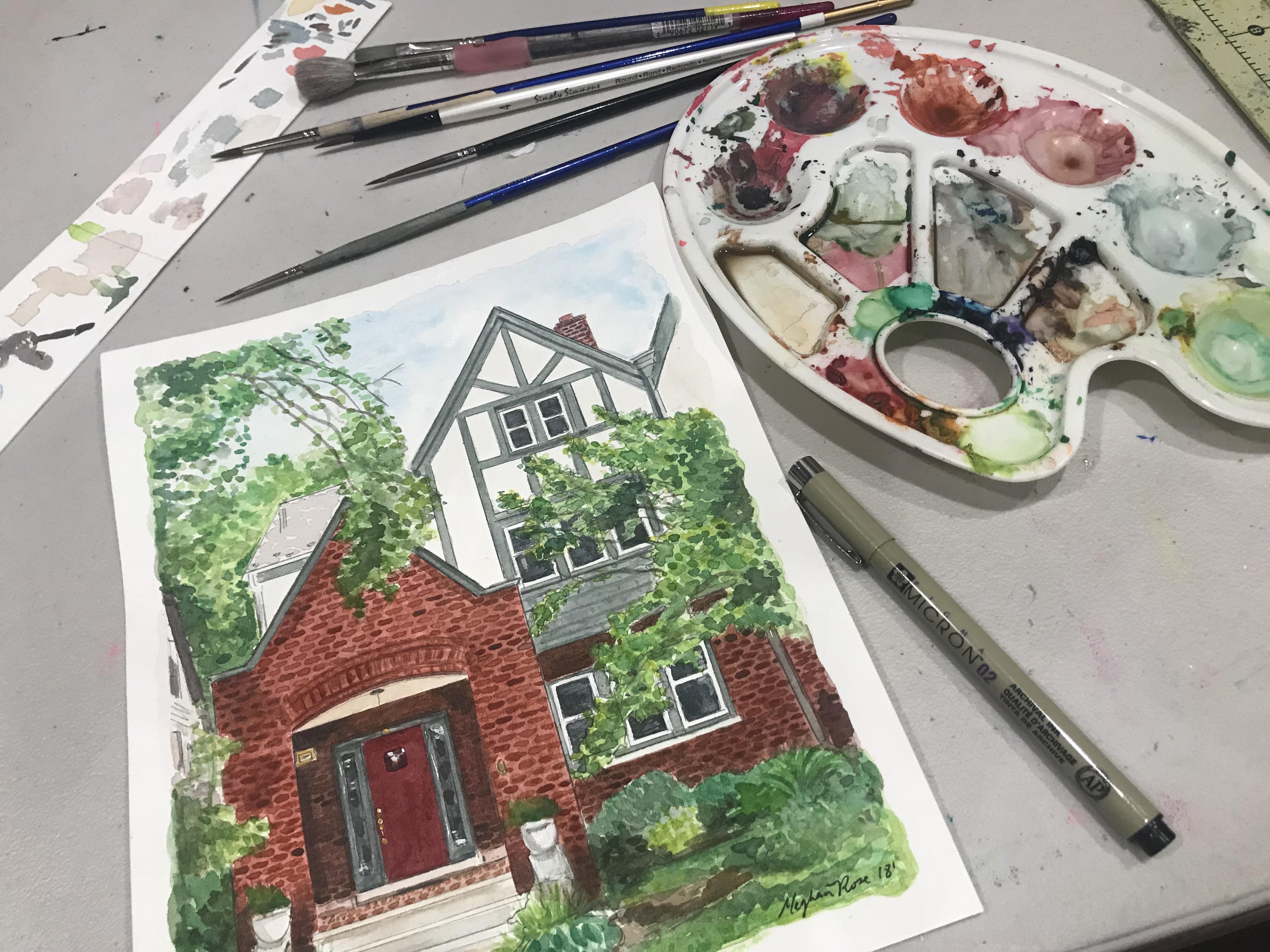 House Portrait_Process