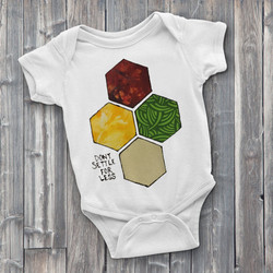 Catan Custom Onesie