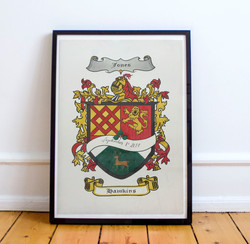 Custom Family Crest Mash Up