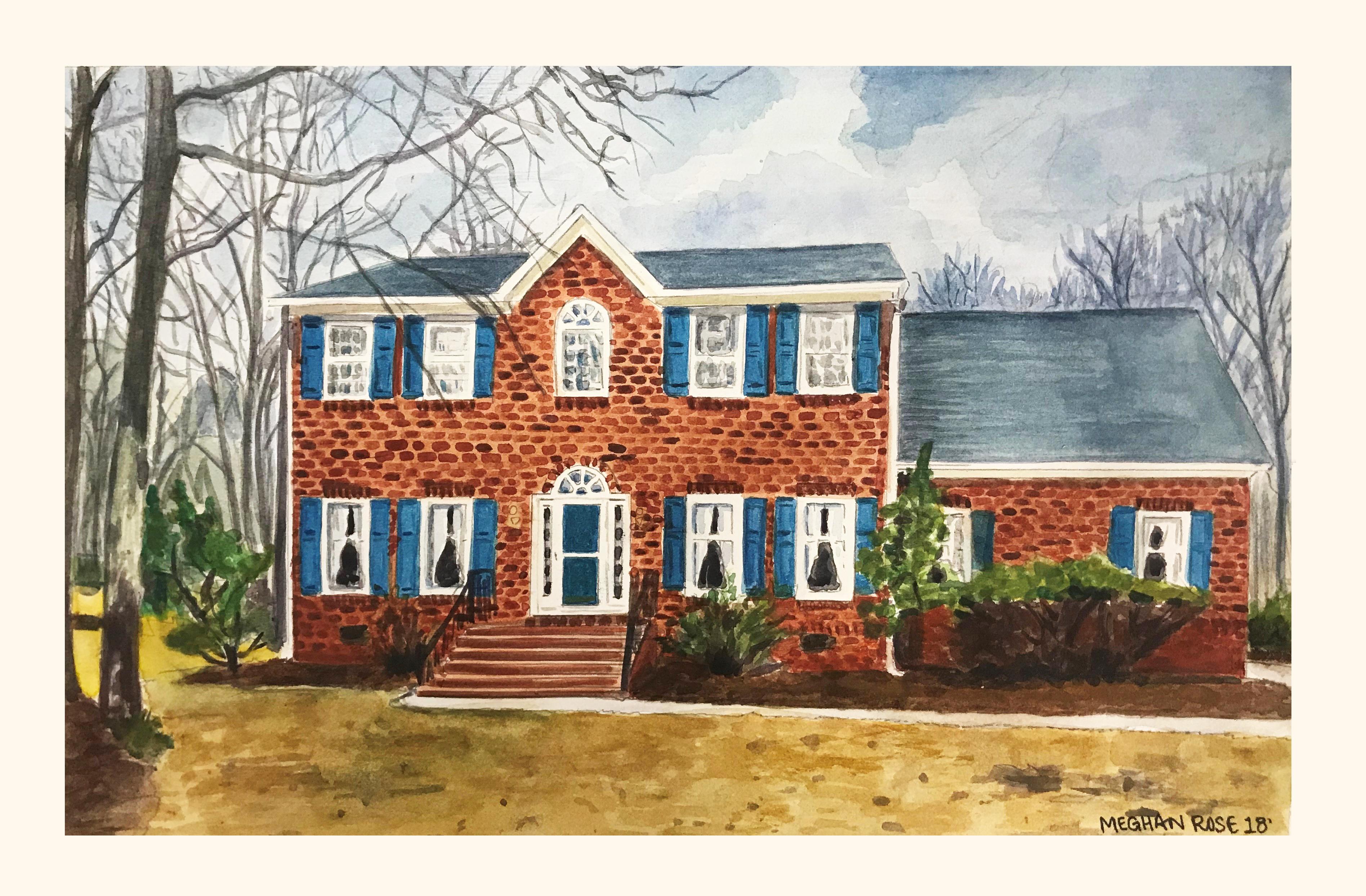 Charlotte, SC House Portrait