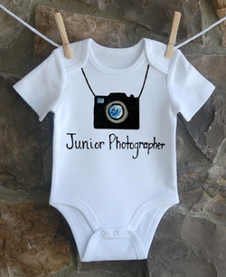 Jr Photographer Custom Onesie