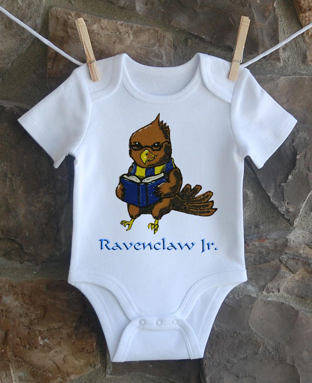 Ravenclaw Jr Custom Onesie