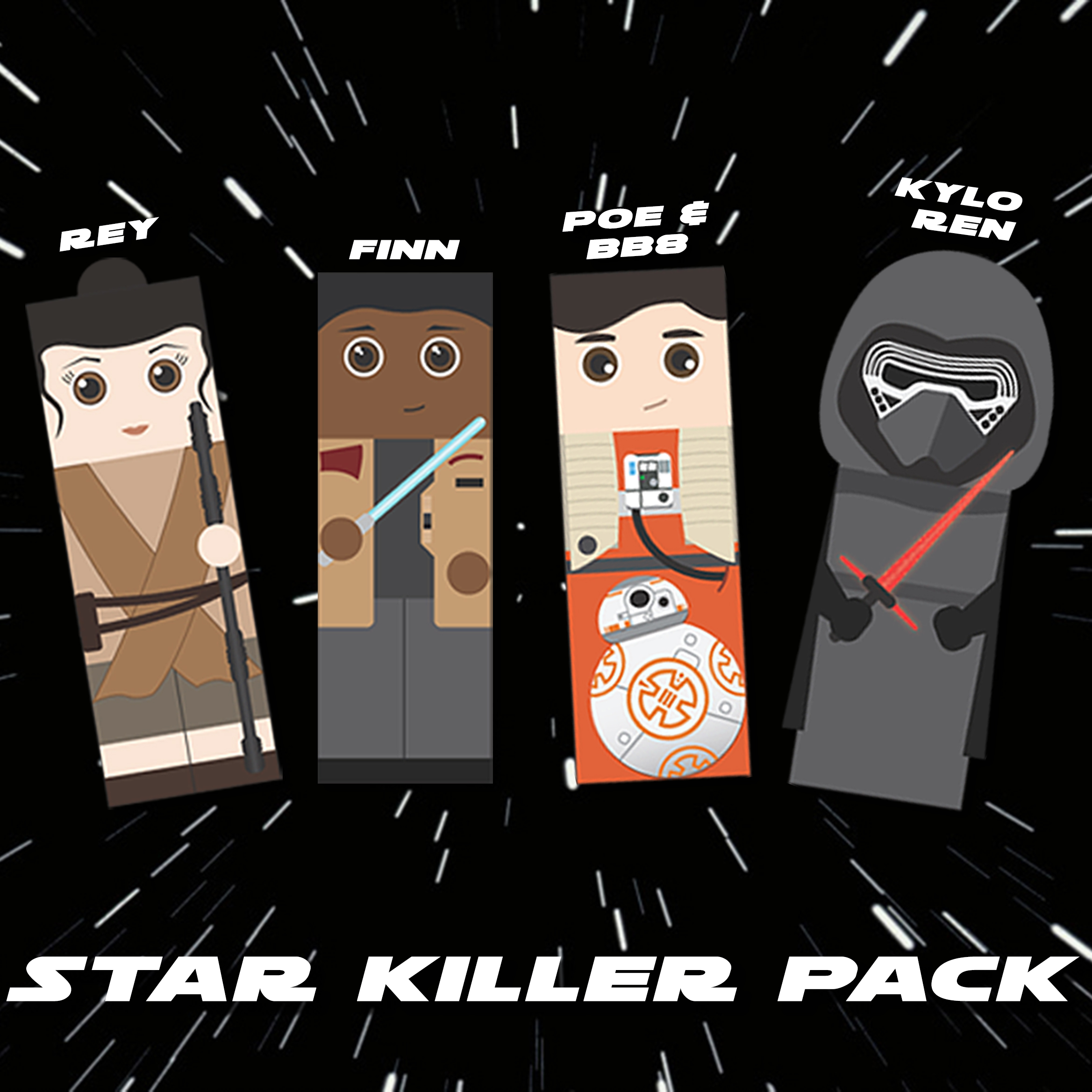 Star Wars Bookmarks_Star Killer Pack