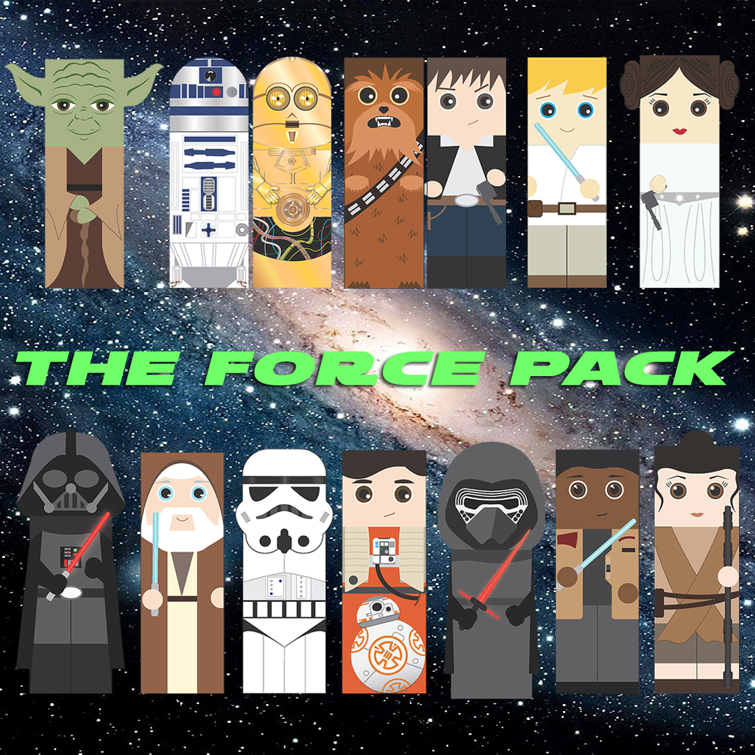 Star Wars Bookmarks_The Force Pack