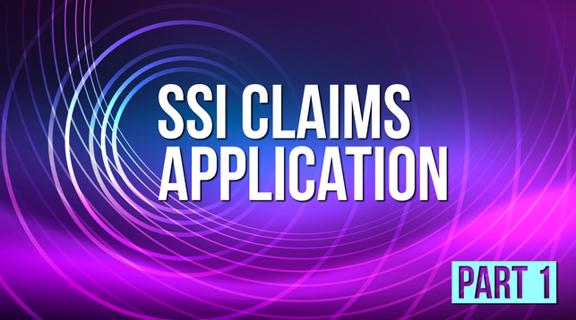 SSI Claims Application_VOD Title Design