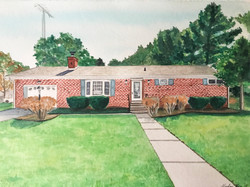 Hurlock, MD House Portrait