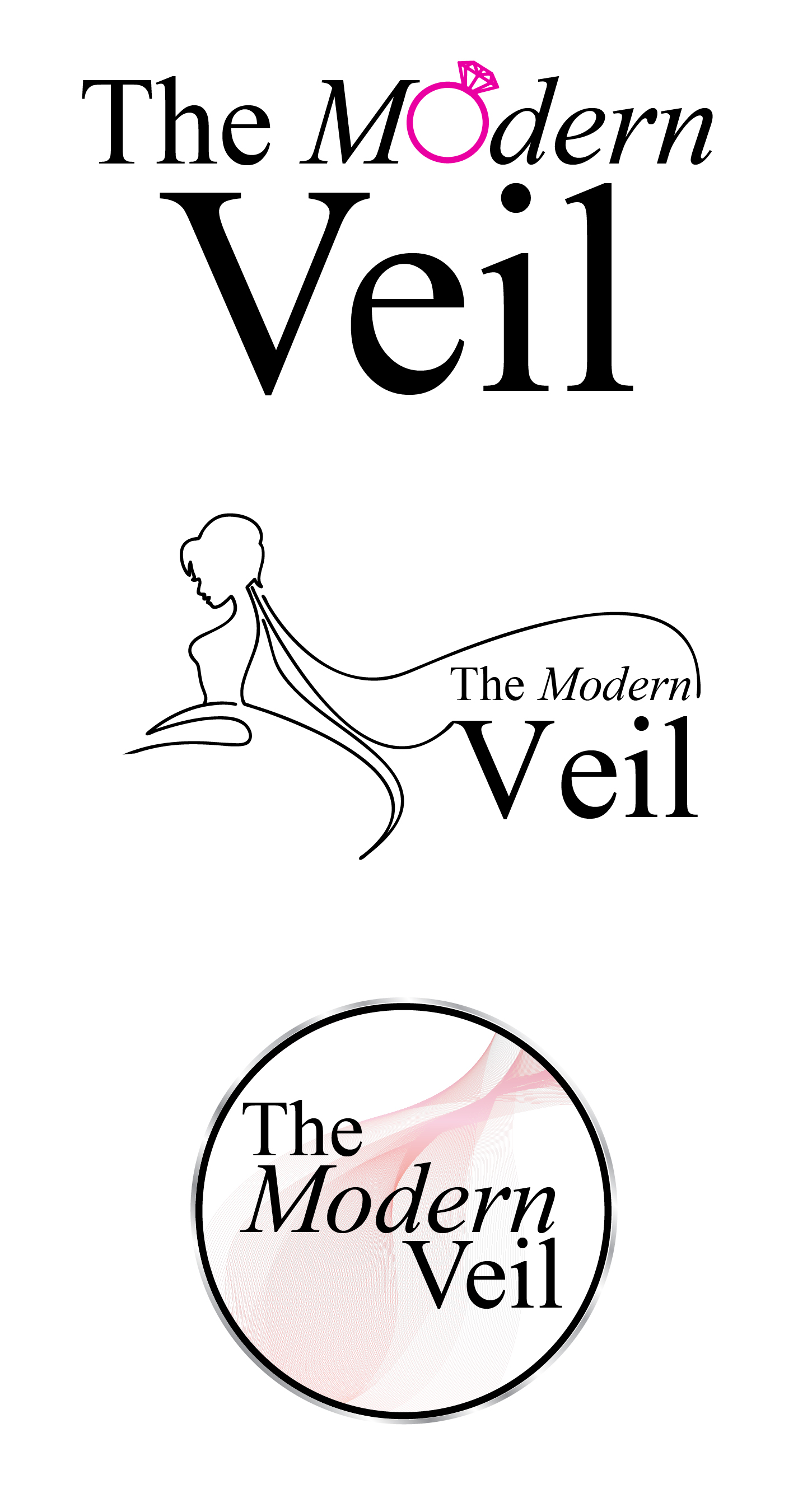 TheModernVeil - Logo Options 02-02