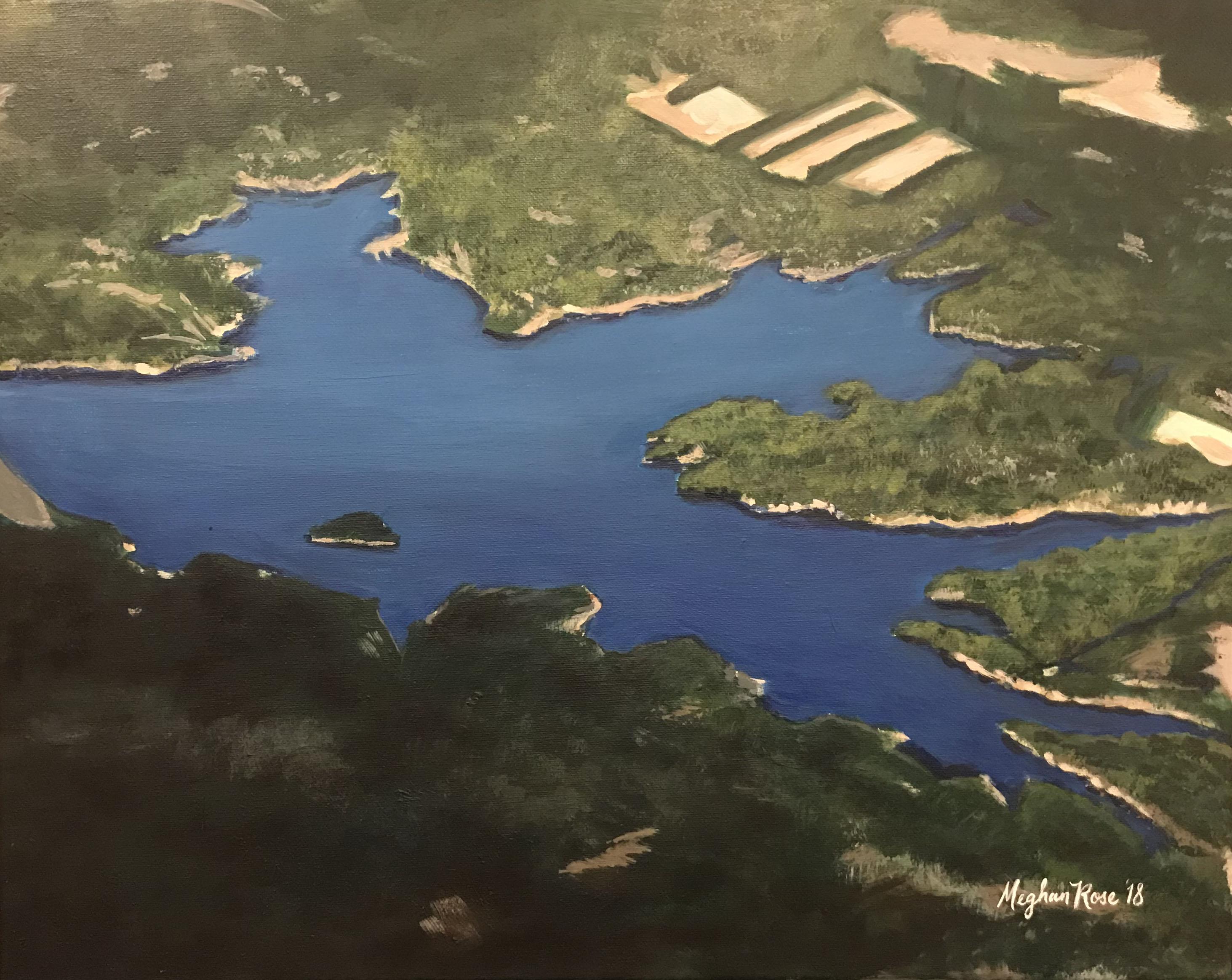 Aerial Lake Portrait