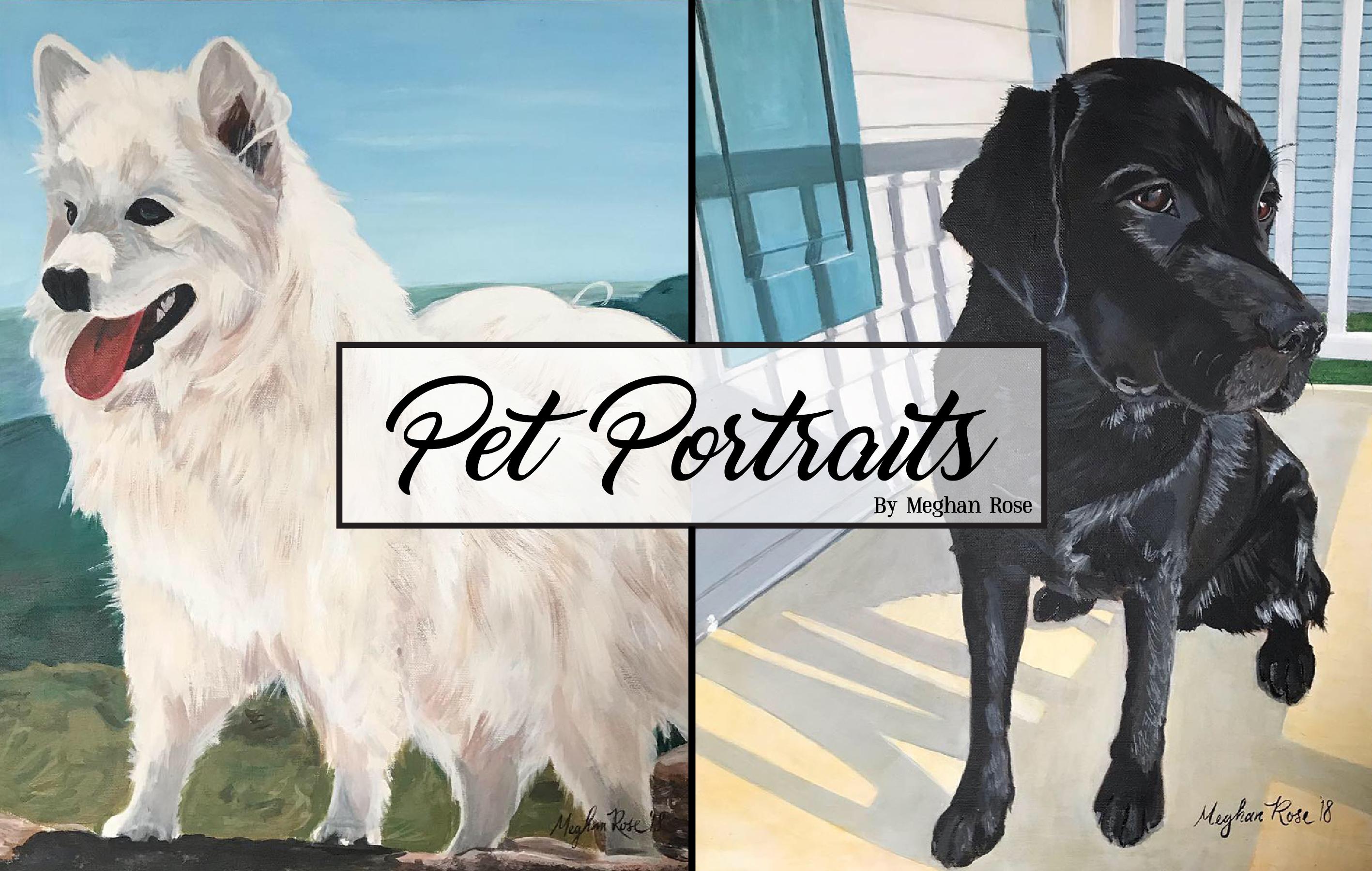 Pet Portrait Ad