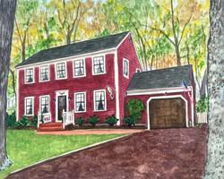 Gaithersburg, MD House Portrait