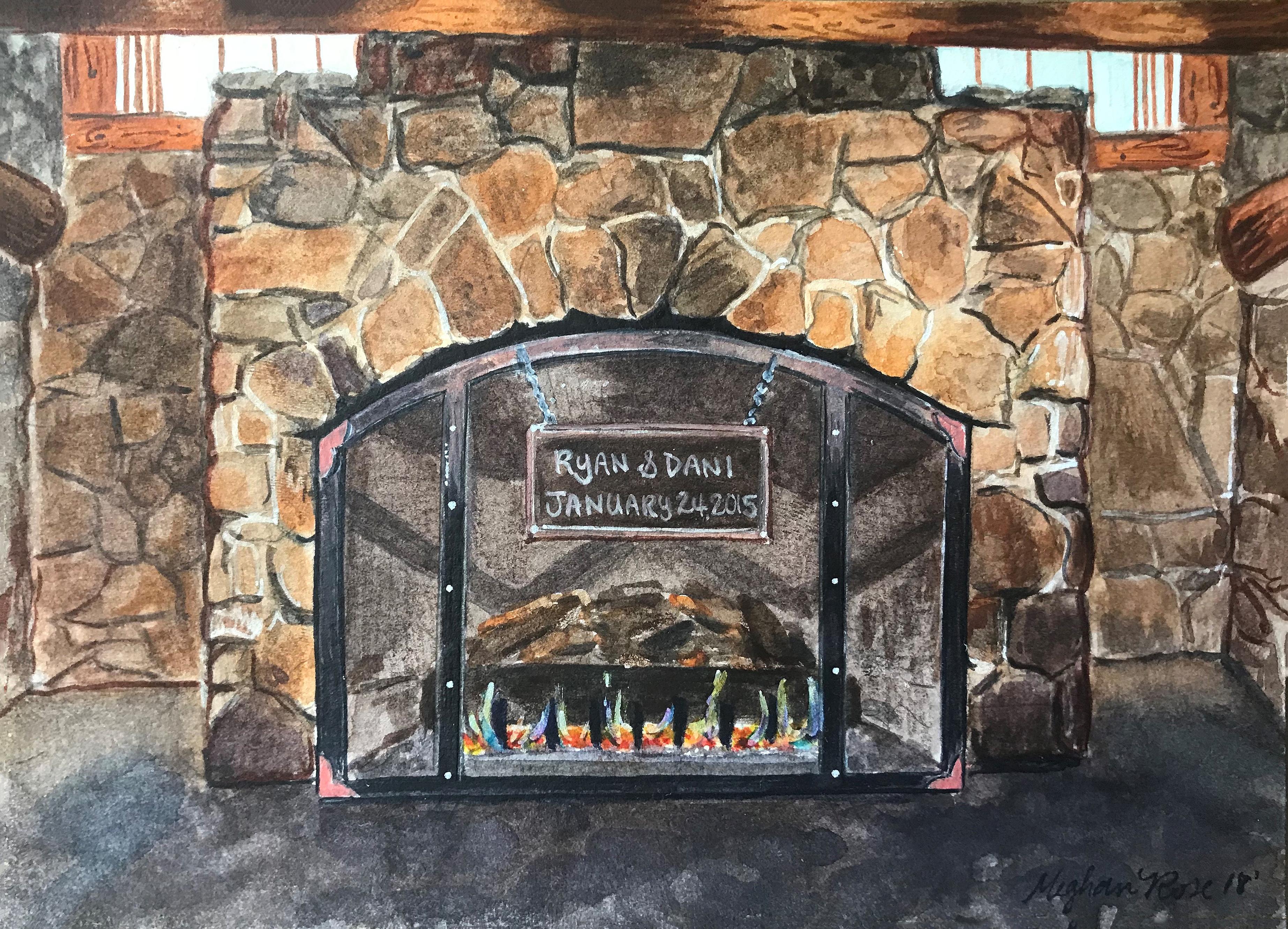 Timber Ridge Lodge_Fireplace