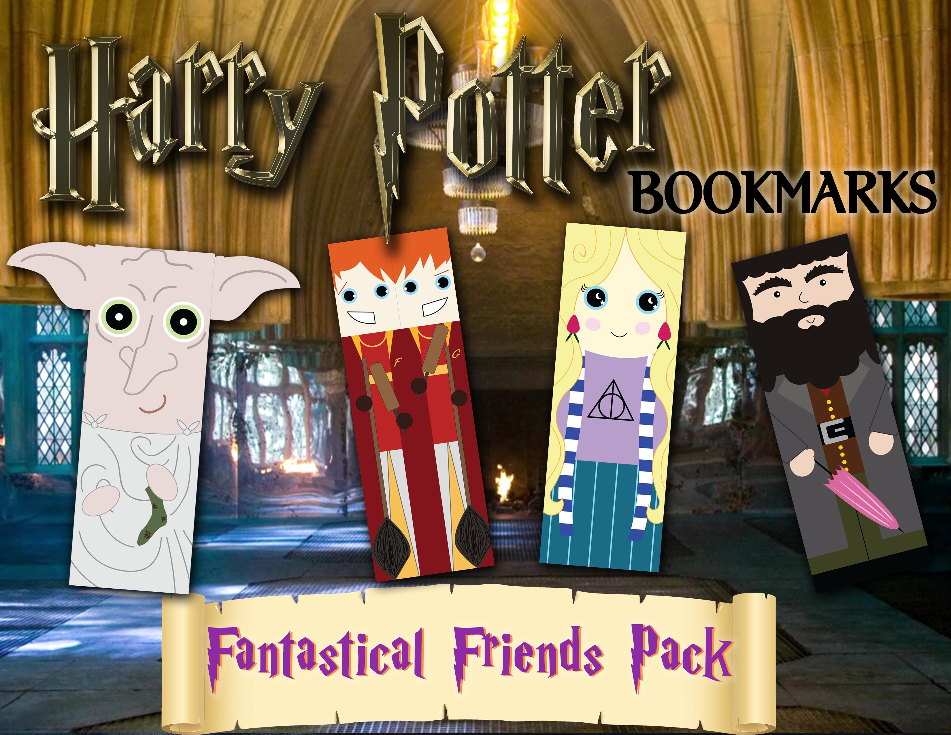 Harry Potter Bookmarks_Friends