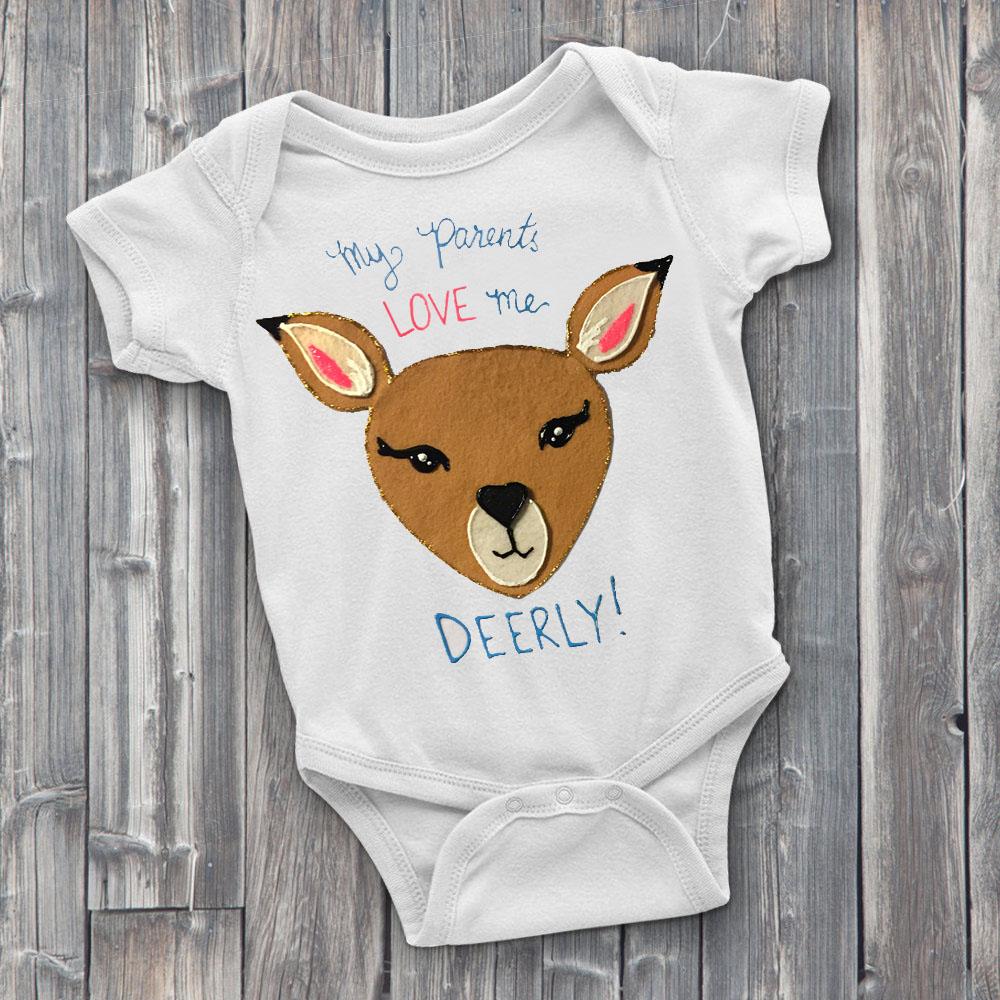 Deerly Custom Onesie