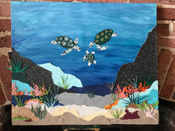 Sea Turtles_Guest Book Canvas