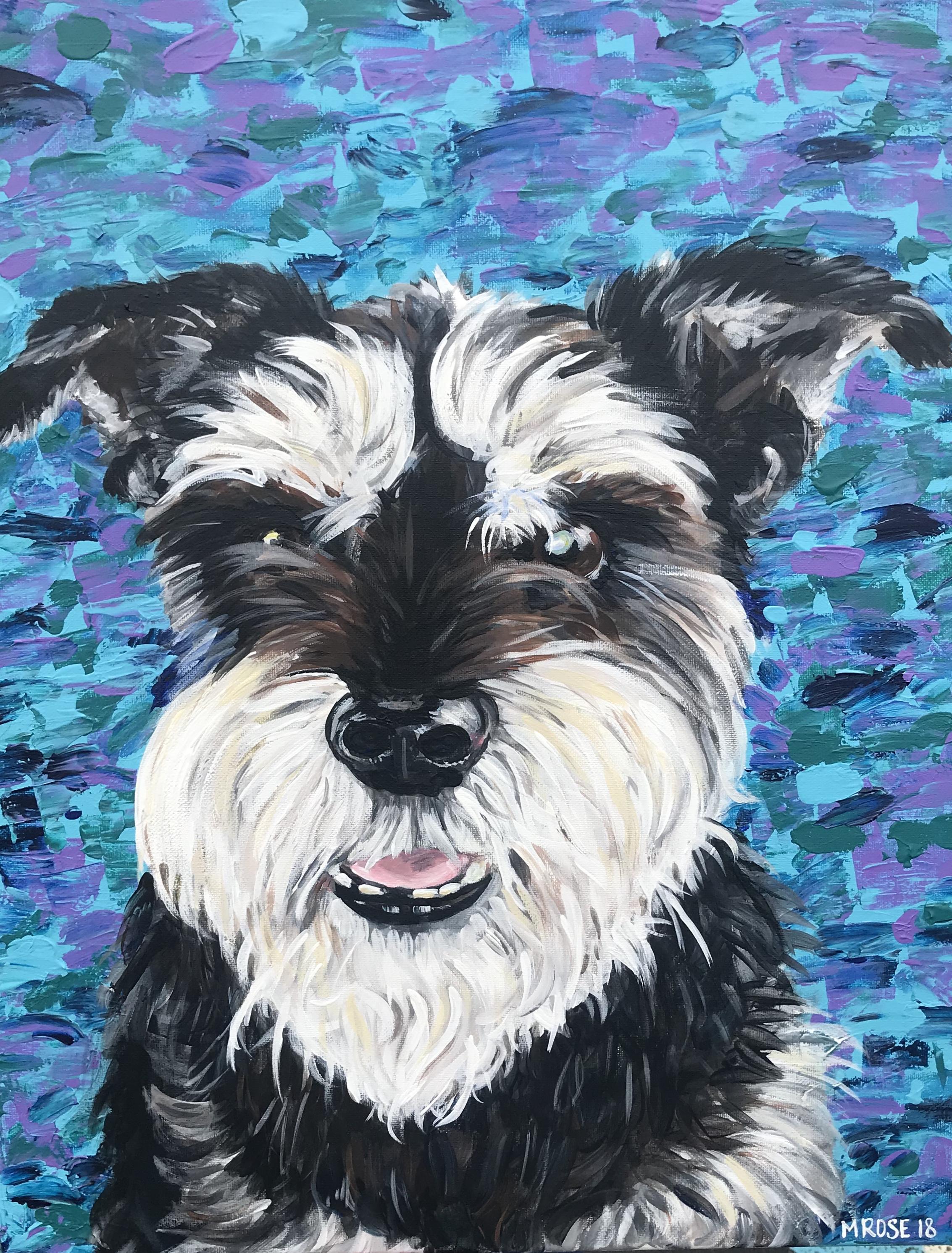 Wylie Dog Portrait