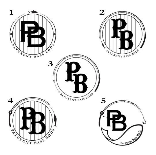 Patuxent Bass Rods Logo -  Options Sheet