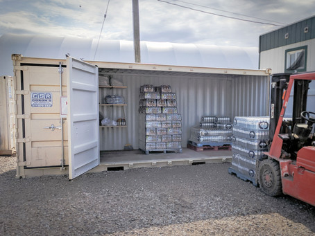 20' Open-Sided Containers for Sale!
