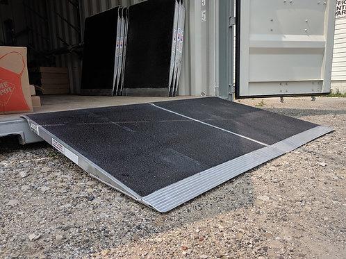 """Aluminum Grit Container Ramp (36"""")"""