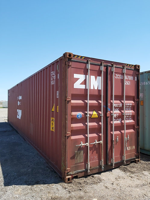 ZCSU 847009-0 (40' USED HIGH-CUBE CONTAINER)