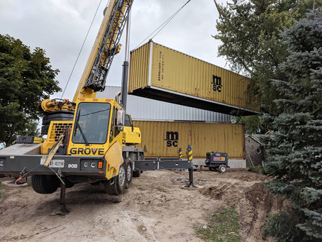 """Building """"Container Homes"""" in Windsor-Essex / Southwestern Ontario"""