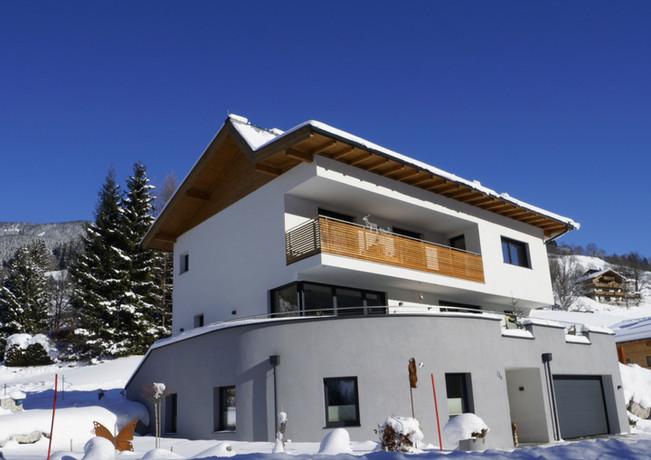 Winter in Saalbach Ferienewohnung Sunnseit