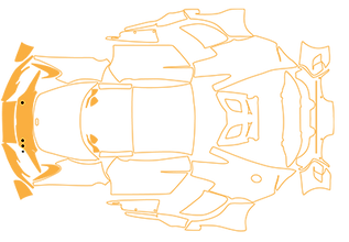 Ein Wrapping-Kit (Folienset bzw. Folienschablone) wird nach für den Fahrzeugtyp vorgefertig bzw. vorab exakt zugeschnitten