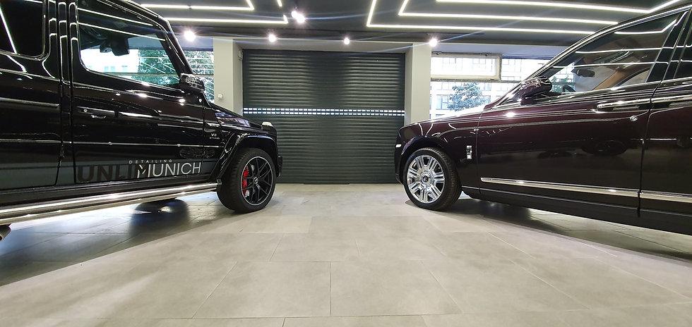 Unser Detailing Salon für Folierung und Fahrzeugpflege