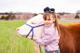 littles- girl with steer.jpg