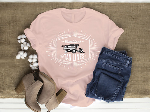 Combines and Tan Lines T