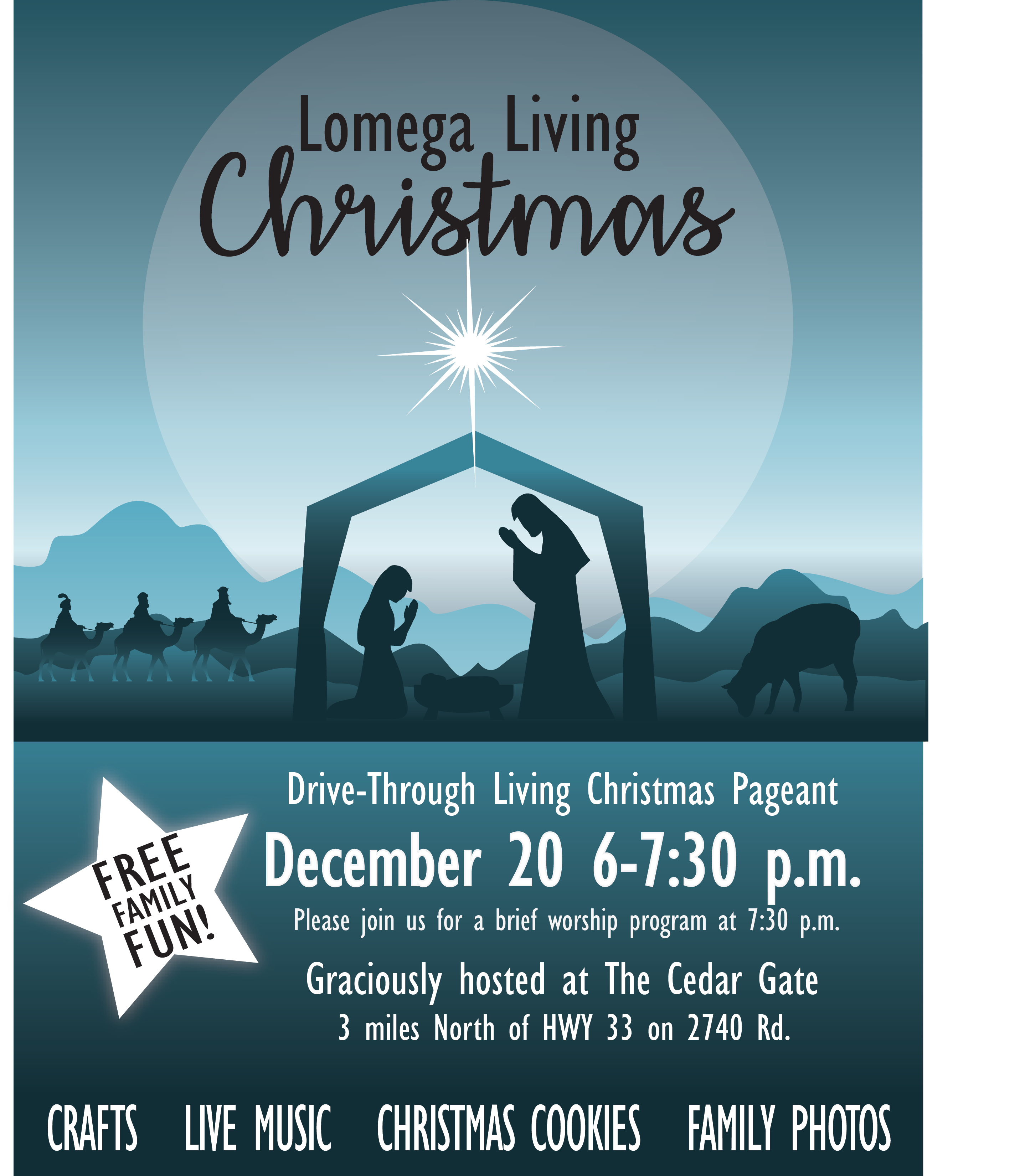 2017 Lomega Living Christmas Flier