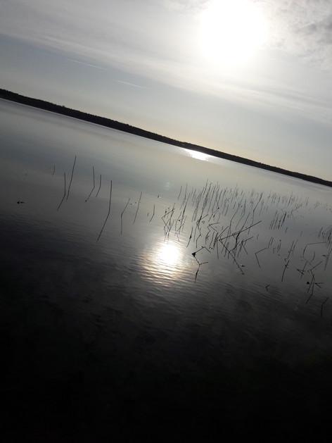och soluppgång!  Marsbäcken fortsätter att inspirera denna fantastiska helg!