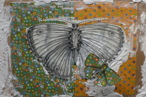 """Schmetterling """"Grün"""""""