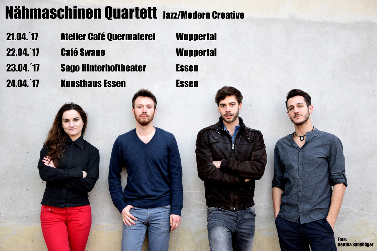 Nähmaschinen Quartett, 21.04.2017