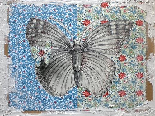 """Schmetterling """"Blau"""""""