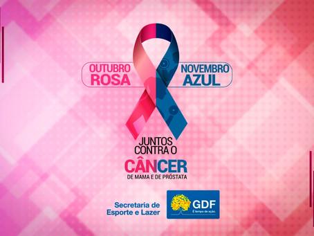 Secretaria de Esporte e Lazer promove live sobre o Outubro Rosa