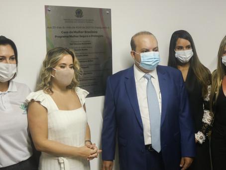 Voltada para mulheres vítimas de violência, Casa da Mulher Brasileira é inaugurada em Ceilândia