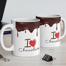 Caneca I Love Chocolate