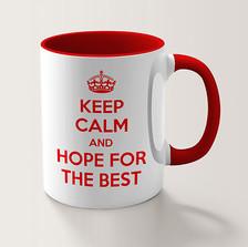 Caneca Keep Calm and Hope...