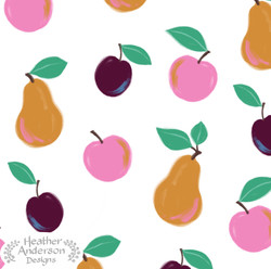 Heather Anderson Fruit Pattern
